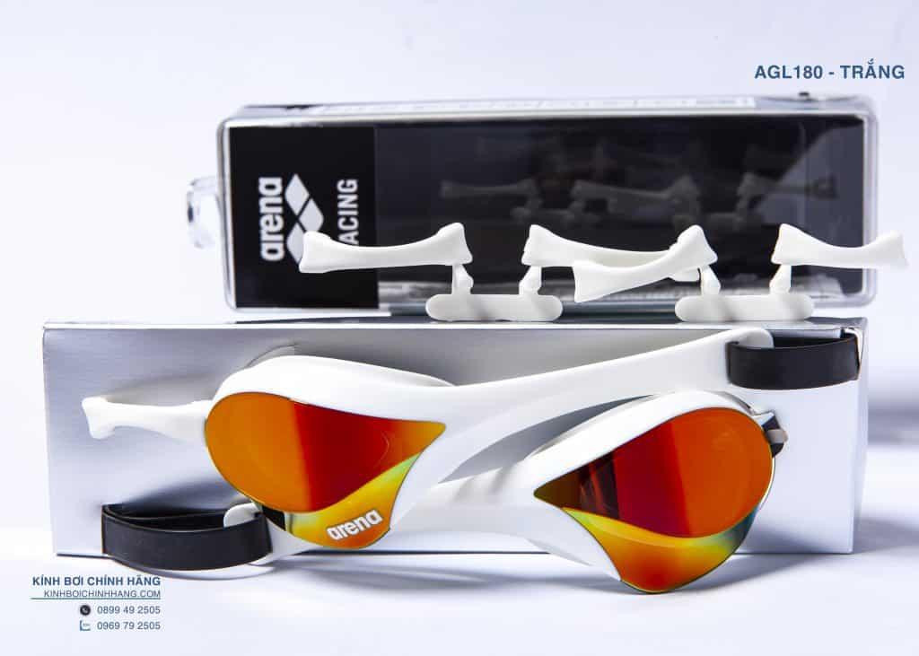 kính bơi arena agl180me màu rdsw
