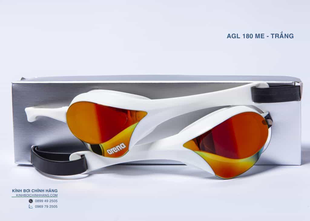 kính bơi cao cấp thi đấu chuyên nghiệp Arena AGL180ME RDSW