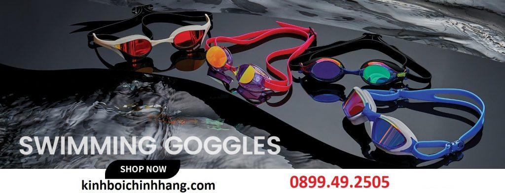 Những loại kính bơi cận tốt nhất được ưa chuộng hiện nay